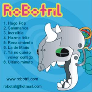Robotril - Portada CD
