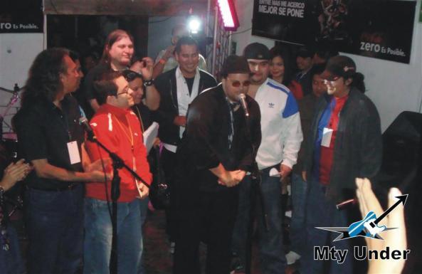 Pibe, vocalista de Gatos de San Martin agradeció el apoyo