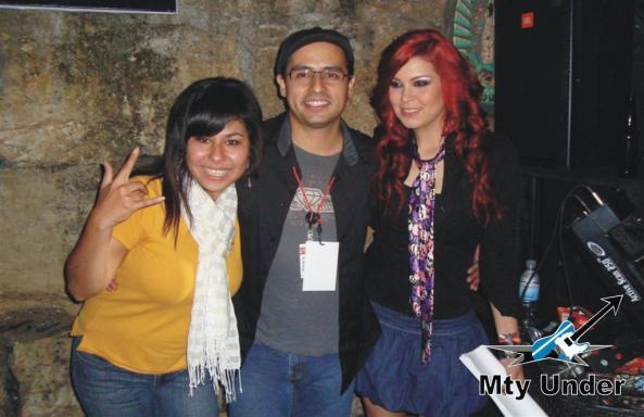 Ale Aguirre, Rodolfo Tijerina y Ana González