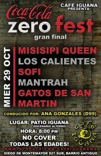 Flyer Zero Fest 2008