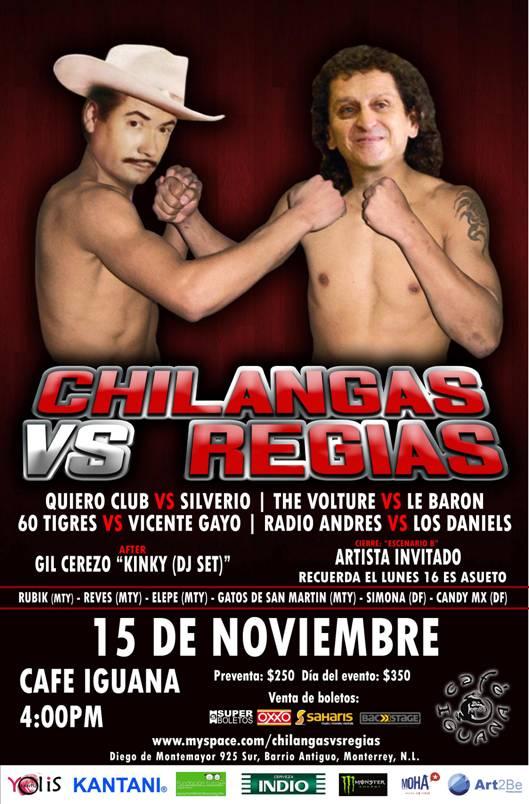 Chilangas Vs Regias 2009